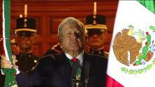 Grito de Independencia: presidente de México realiza ceremonia sin público en el Zócalo capitalino