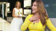 Tanya revela que ha bajado tanto de peso para su boda que el vestido de novia ya le queda grande