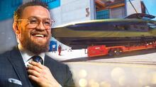 Conor McGregor añade a su colección un superyate de $3.4 millones y 4,000 HP