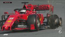INCRÍBLE ¡Los pilotos de Ferrari se eliminan del GP de Brasil!