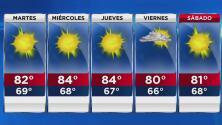 Cielo despejado y temperatura moderada para este martes en Los Ángeles