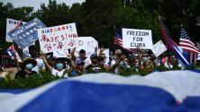 """""""¡Libertad para Cuba!"""": Cientos de personas en Washington DC exigen acciones contundentes contra el régimen"""