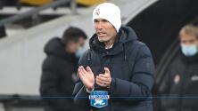 """Zinedine Zidane tras clasificar a octavos: """"Hoy hay que disfrutar"""""""