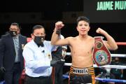Jaime Munguía se luce en El Paso ante Szeremeta