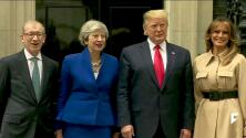 Day two of President Trump's state visit to the U.K.