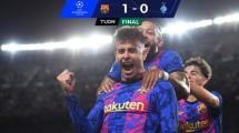 Resumen | Golear y gustar se olvidó: Barça vence a Dynamo de Kiev