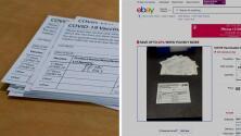 Arrestan a farmacéutico de Chicago por vender tarjetas de vacunación covid-19 en eBay
