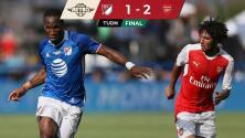 ¡Triunfo inglés! MLS All-Stars y Arsenal se sacaron chispas en el 2016