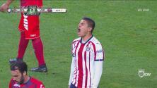 Otra que deja ir Ronaldo Cisneros y se mantiene el empate