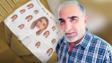 """""""¿Será muy tóxico?"""": novia de Vicente Fernández Jr. estampa su rostro en unos calzones para regalárselos"""
