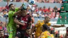En vibrante partido, Atlas y Tigres firmaron empate