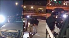 Agentes de ICE arrestan a un grupo de trabajadores en un estacionamiento de Atlanta