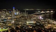 Así son las misiones aéreas de la Patrulla de Caminos sobre la Bahía de San Francisco