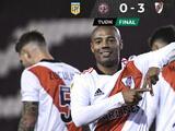 River Plate golea a Lanús como visitante para hilvanar su segunda victoria