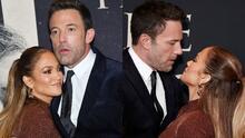 Con la boca abierta: así dejó JLo a Ben Affleck al acompañarlo en el estreno de su nueva 'peli'