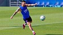La razón por la que Messi podrá entrenar con el Barcelona