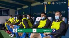 Resumen del partido Puebla vs Cruz Azul
