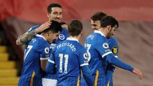 Brighton sorprende y derrota al Liverpool