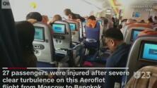 Turbulencia deja heridos en un avión y otras tendencias en la red