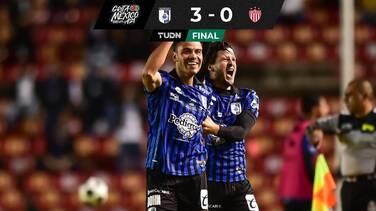 Querétaro sacó su primer triunfo del torneo a costa del Necaxa