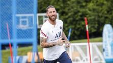 ¡Bienvenue! Sergio Ramos gozó su primer día con el PSG