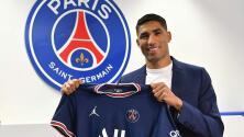 Hakimi es transferido al PSG; Inter y Real Madrid repartirán el pago