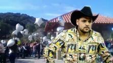 Las imágenes del emotivo funeral del asesinado Hugo Figueroa desde 'La misión', el rancho donde cosechó su éxito