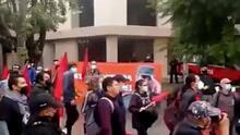 Agreden a cubanos durante una protesta en la embajada de Cuba en México
