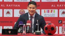 James sueña con su regreso a la Selección de Colombia