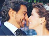 Eugenio Derbez y Alessandra Rosaldo celebraron 9 años de matrimonio