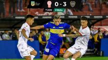 Resumen | Boca Juniors golea a Huracán en su propia casa