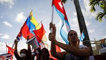 """""""Ahora que el pueblo cubano está en la calle es nuestro deber manifestarnos"""": exiliado venezolano José Antonio Colina"""