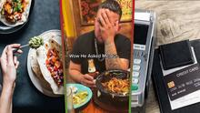 """""""El compita no quería pagar porque es su cumpleaños"""": Hombre se niega a cubrir la cuenta de un restaurante y discute con su pareja para que ella lo haga"""