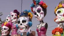 Las tradicionales catrinas lucirán en todo su esplendor en el muelle de Santa Mónica en una gran exposición