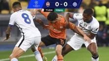 Shakhtar no aprovecha ante su gente y empata 0-0 con Inter de Milán
