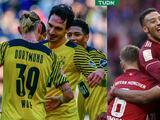 Borussia Dortmund y Bayern Munich  no aflojan el paso en la Bundesliga