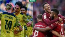 El Dortmund y Bayern no aflojan y golean en la Bundesliga