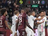 ¡In extremis! Otro mal juego de PSG que gana contra el colero Metz