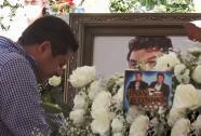 """""""Siempre te voy a amar"""": emotivas palabras del hijo de José Manuel Zamacona al darle el último adiós a su padre"""
