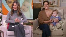 La tía Karla Martínez se emocionó por la noticia que le dio Pamela Silva con su 'baby Ford'