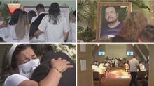 Así fue el último adiós a Andrés Banda, el hispano que fue desconectado tras meses de lucha en el hospital