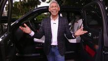 Johnny Lozada quedó impresionado con el lujo, tecnología y potencia de la camioneta Cullinan de Rolls-Royce