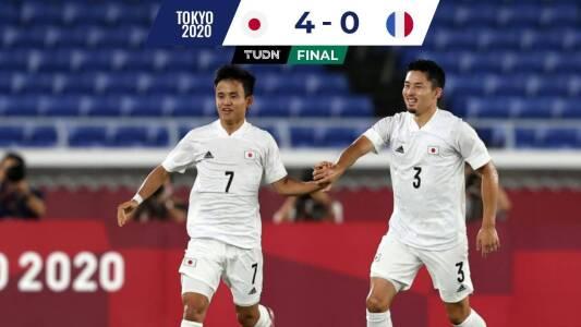 La Francia de Gignac y Thauvin fue eliminada y humillada por Japón