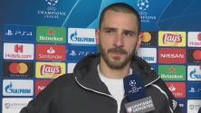 Bonucci reconoció que sin Cristiano Ronaldo, Juventus no hubiera avanzado en Champions