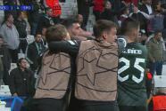 ¡Qué golazo! Paulinho sentencia el encuentro con el 1-4 del Sporting