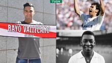 Presidente del Rayo pone a Falcao a la altura de Hugo Sánchez y Pelé
