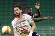 A pesar del empate en San Siro, AC Milan califica a Octavos de Final de la UEFA Europa League, dejando atrás al Estrella Roja de Belgrado. Franck Kessie anotó el primer gol del partido al minuto 9 a favor de los 'Rossoneri', pero fue al minuto 24 cuando Nabouhane igualó el marcador, pero no fue suficiente.