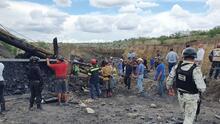 Mineros atrapados en México: recuperan un cuarto cadáver, pero aún quedan tres atrapados
