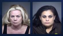 Estas dos mujeres están acusadas de robar más de $100,000 en mercancía de tiendas Walmart