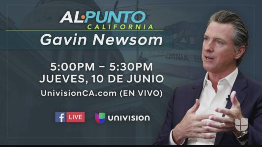 Al Punto California con Gavin Newsom